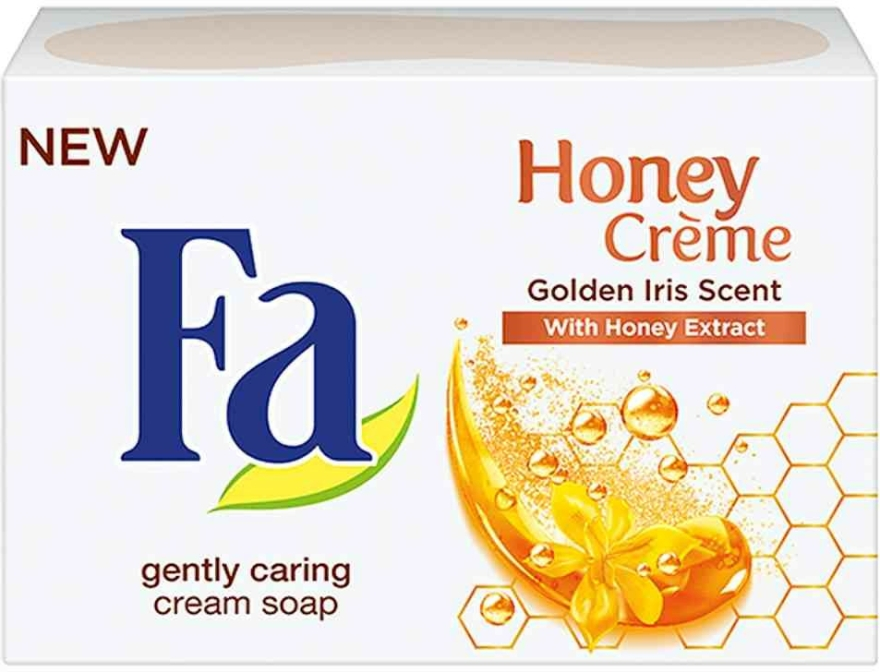 "Săpun ""Iris"" - Fa Honey Creme Golden Iris Cream Soap — Imagine N1"