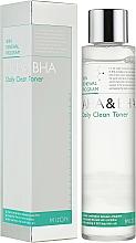 Parfumuri și produse cosmetice Tonic pentru față - Mizon AHA & BHA Daily Clean Toner