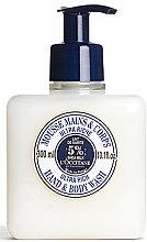 Parfumuri și produse cosmetice Mousse de curățare pentru mâini și corp - L'occitane Shea Butter Ultra Rich Hand & Body Wash