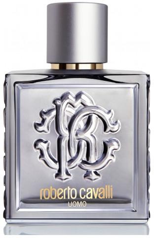 Roberto Cavalli Uomo Silver Essence - Apă de toaletă (tester cu capac) — Imagine N1
