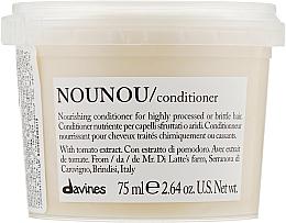 Parfumuri și produse cosmetice Balsam nutritiv pentru păr deteriorat și fragil - Davines Nourishing Nounou Conditioner