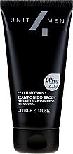 Parfumuri și produse cosmetice Șampon parfumat pentru barbă - Unit4Men Citrus&Musk Perfumed Beard Shampoo