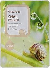 Parfumuri și produse cosmetice Mască din țesut cu extract de melc - Seantree Mask Sheet Snail