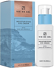 Parfumuri și produse cosmetice Cremă hidratantă pentru ochi - Vie De Sel Moisturizing Eye Cream