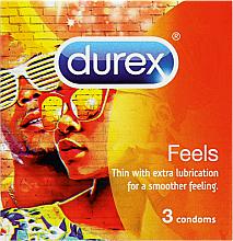 Parfumuri și produse cosmetice Prezervative, 3buc - Durex Feels