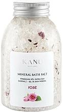 "Parfumuri și produse cosmetice Sare de baie ""Trandafir"" - Kanu Nature Rose Mineral Bath Salt"