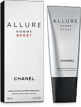 Parfumuri și produse cosmetice Chanel Allure homme Sport - Emulsie după ras