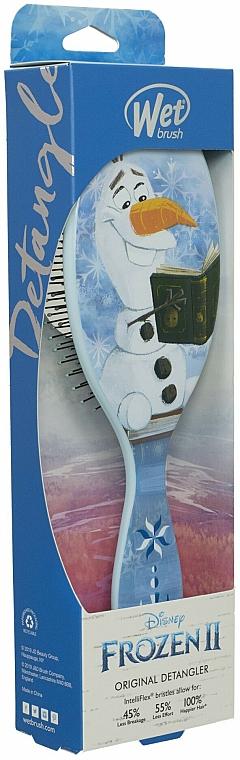 Perie de păr - Wet Brush Disney Frozen II Olaf Original Detangler — Imagine N1