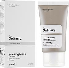 Parfumuri și produse cosmetice Factori naturali de hidratare - The Ordinary Natural Moisturizing Factors + HA