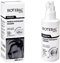 Parfumuri și produse cosmetice Ser împotriva căderii părului - Biotebal Men Serum