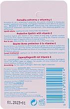 Ruj de buze protector cu vitamina E 1% - Floslek Lip Care Protective Lipstick With Vitamin E 1% — Imagine N2