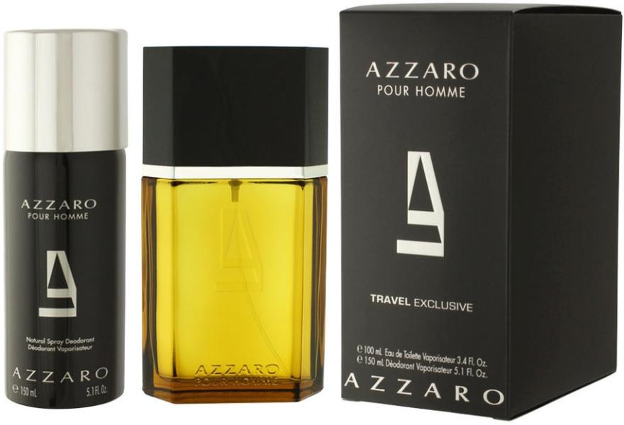 Azzaro Pour Homme Travel - Set (edt/100ml + deo/150ml)