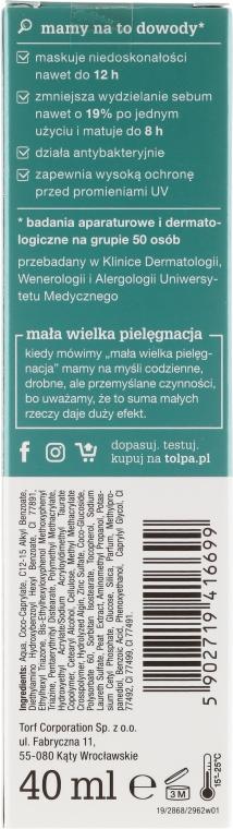 Cremă BB - Tolpa Dermo Face Sebio. BB Cream — Imagine N2