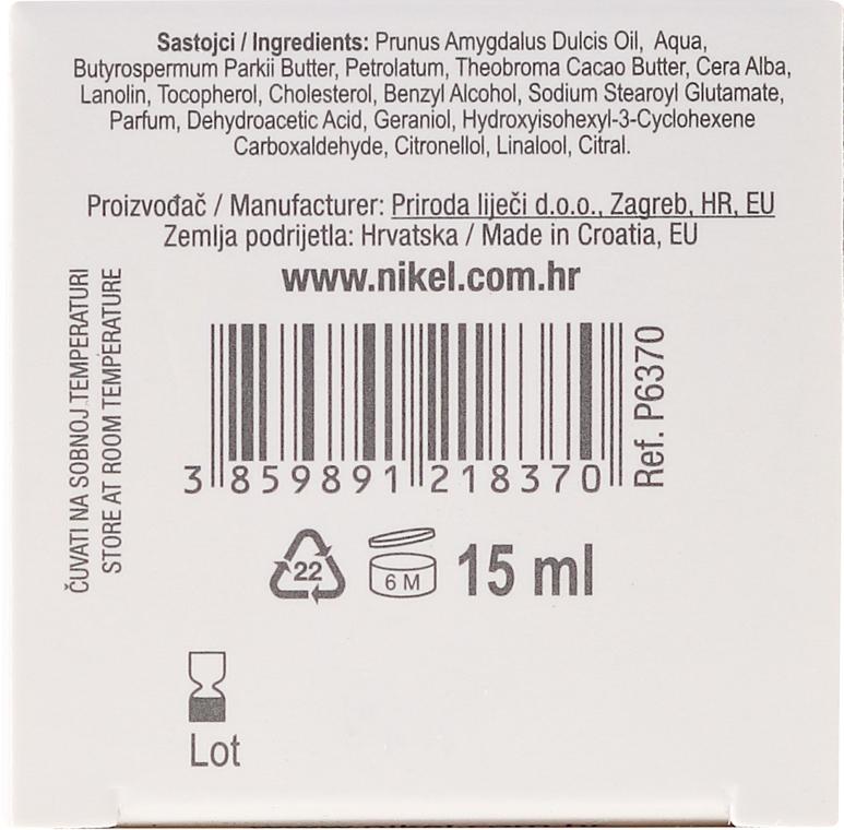 Balsam cu ulei de migdale pentru zona ochilor și buzelor - Nikel Eye and Lip Contour Balm — Imagine N3