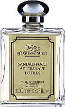 Parfumuri și produse cosmetice Taylor Of Old Bond Street Sandalwood Aftershave Lotion Alcohol-Based - Loțiune după ras