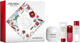 Parfumuri și produse cosmetice Set - Shiseido Essential Energy Holiday Kit (cr/50ml + foam/15ml + f/lot/15ml + conc/5ml)