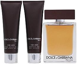 Dolce & Gabbana The One for Men - Set (edt 100ml + a/sh balm 50ml + sh/gel 50ml) — Imagine N3