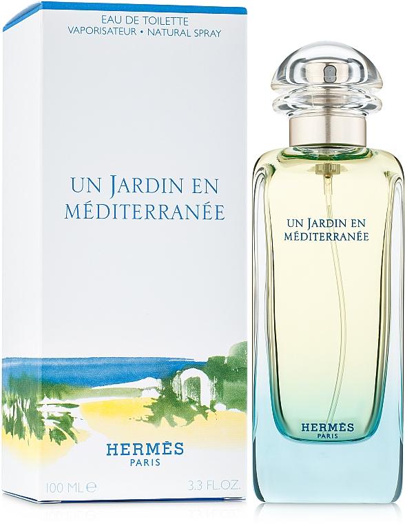 Hermes Un Jardin en Mediterranee - Apă de toaletă — Imagine N2