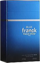 Parfumuri și produse cosmetice Franck Olivier Franck Blue - Apă de toaletă