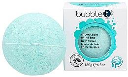 """Parfumuri și produse cosmetice Bombă de baie """"Ceai marocan și Mentă"""" - Bubble T Bath Fizzer Moroccan Mint Tea"""