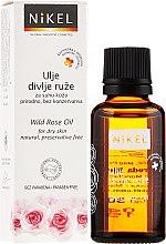 Parfumuri și produse cosmetice Ulei de față - Nikel Wild Rose Oil