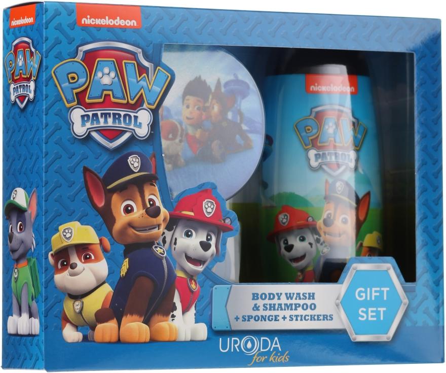 Set - Uroda Paw Patrol Boy (sh/gel/250ml + sponge + stickers)