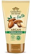 Parfumuri și produse cosmetice Cremă de mâini - Giardino Dei Sensi Eco Bio Argan Hand Cream