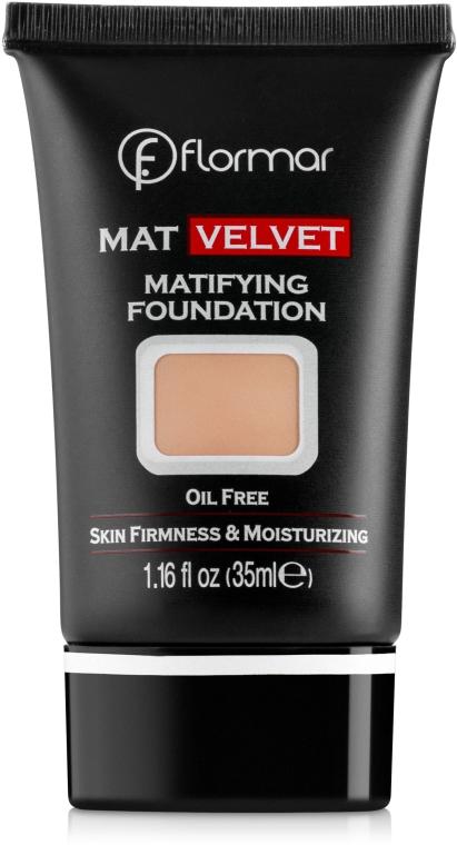 Fond de ten - Flormar Mat Velvet Matifying Foundation