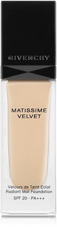 Fond de ten - Givenchy Matissime Velvet Liquid Foundation SPF 20