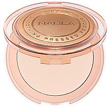 Parfumuri și produse cosmetice Pudră compactă pentru față - Nabla Close-Up Smoothing Pressed Powder