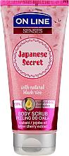 Parfumuri și produse cosmetice Scrub pentru corp - On Line Senses Body Scrub Japanese Secret