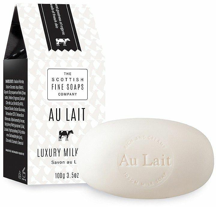 Săpun hidratant pentru mâini - Scottish Fine Soaps Au Lait Luxury Milk Soap — Imagine N1