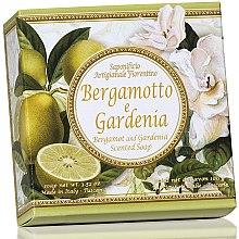 "Parfumuri și produse cosmetice Săpun natural ""Bergamotă și Gardenia"" - Saponificio Artigianale Fiorentino Capri Bergamot & Gardenia Soap"