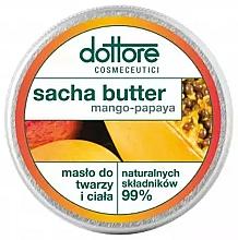 "Parfumuri și produse cosmetice Unt pentru față și corp ""Mango-papaya"" - Dottore Sacha Butter Mango-Papaya"
