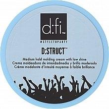 Parfumuri și produse cosmetice Cremă pentru păr - D:fi D:struct Medium Hold Molding Cream