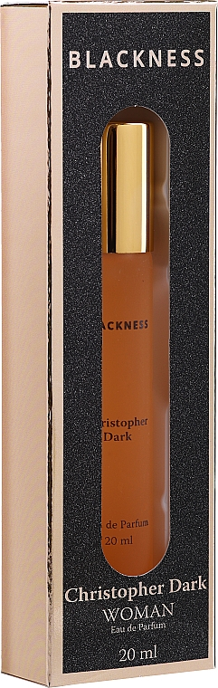 Christopher Dark Blackness - Apă de parfum (mini)