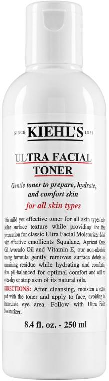 Tonic hidratant pentru față - Kiehl's Ultra Facial Toner — Imagine N1