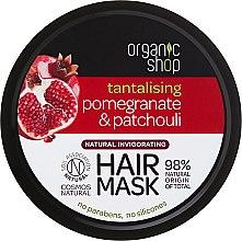 """Parfumuri și produse cosmetice Mască de păr """"Rodie și pachouli"""" - Organic Shop Mask Pomegranate and Patchouli"""