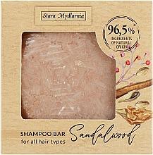 "Parfumuri și produse cosmetice Șampon solid ""Lemn de santal"" - Stara Mydlarnia Bodychillout Sandalwood Shampoo Bar"