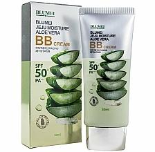 Parfumuri și produse cosmetice BB cremă cu extract de aloe - Blumei Jeju Moisture Aloe Vera BB Cream