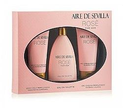 Instituto Español Aire de Sevilla Rose - Set (edt/150ml + b/milk/150ml + sh/cr/150ml) — Imagine N2
