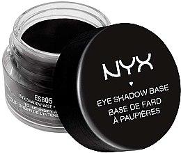 Parfumuri și produse cosmetice Bază pentru fard de pleoape - NYX Professional Makeup Eyeshadow Base Black
