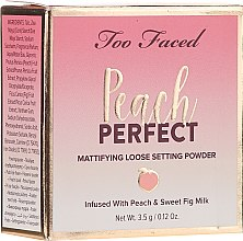 Parfumuri și produse cosmetice Pudră de față - Too Faced Peach Perfect Setting Powder Travel-Size