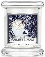 Parfumuri și produse cosmetice Lumânare aromată (pahar) - Kringle Candle Cashmere & Cocoa