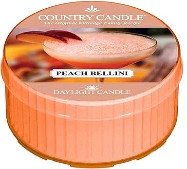 Lumânare aromată - Country Candle Peach Bellini Daylight — Imagine N1