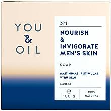 Parfumuri și produse cosmetice Săpun hrănitor pentru bărbați - You & Oil Nourish & Invigorate Men