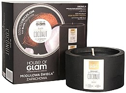 Parfumuri și produse cosmetice Lumânare aromată - House of Glam Black Coconut Candle