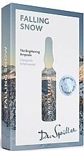 Parfumuri și produse cosmetice Fiole concentrat pentru uniformizarea tonului pielii - Dr. Spiller White Effect Falling Snow The Brightening Ampoule