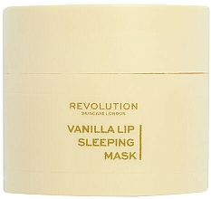 """Parfumuri și produse cosmetice Mască de noapte pentru buze """"Vanilie"""" - Revolution Skincare Vanilla Lip Sleeping Mask"""