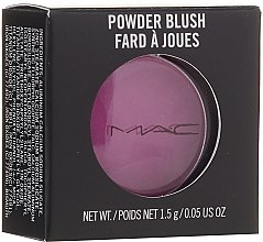Parfumuri și produse cosmetice Fard de obraz, mic - M.A.C Powder Blush